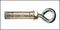 Купить 4-х сегментный оцинкованный анкер с кольцом