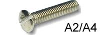 Крепежный винт DIN 964 нержавеющая сталь А2, А4