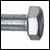 Шуруп глухарь DIN 571 (сантехнический)